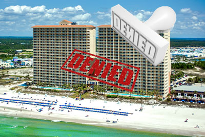 Calypso condominium denied financing